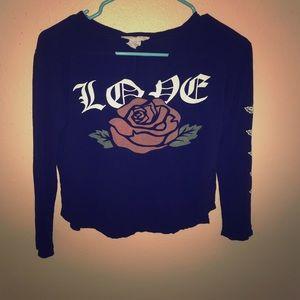 Tops - Vintage rose shirt